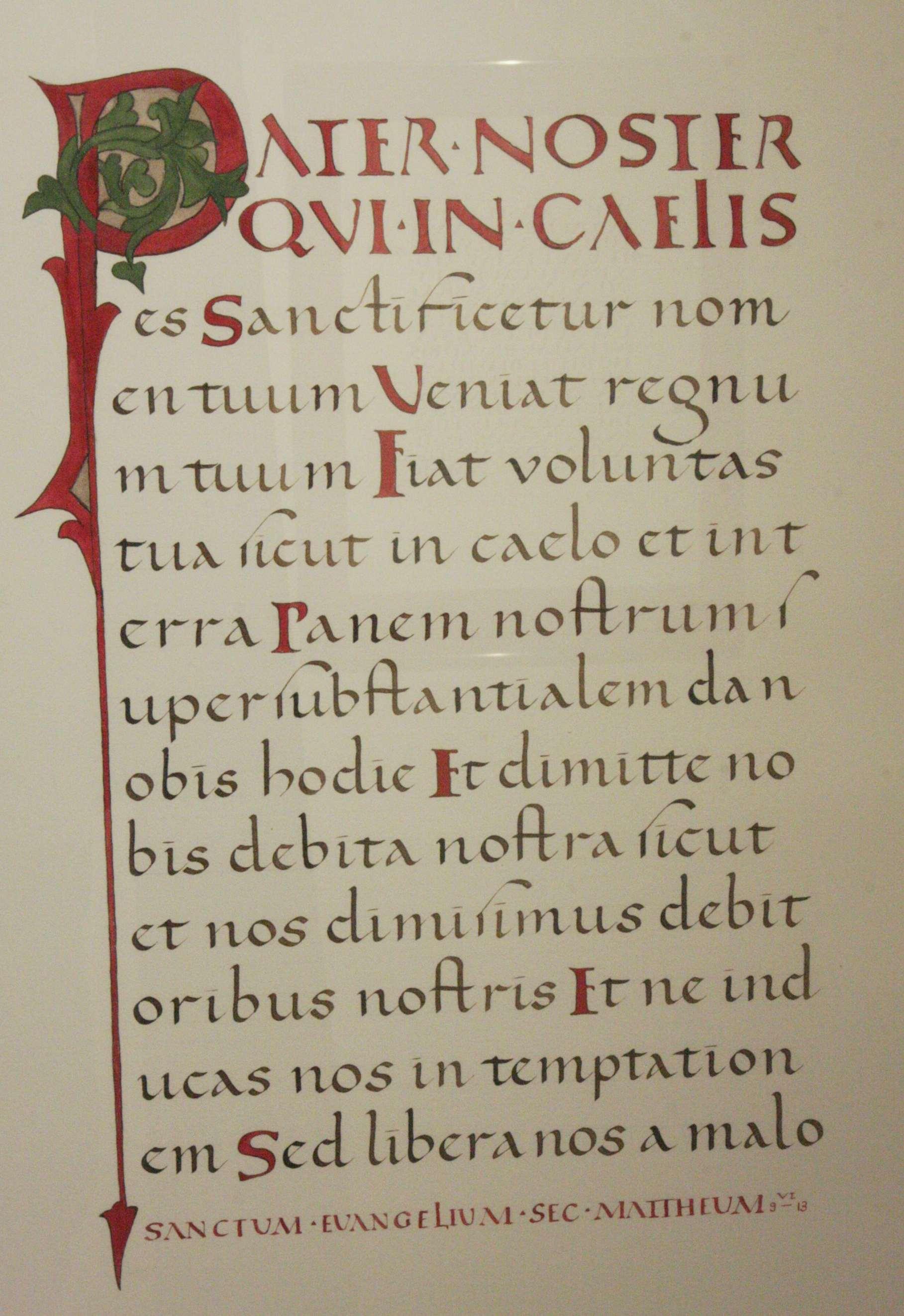 Kalligrafie - Schreiben im Torhaus