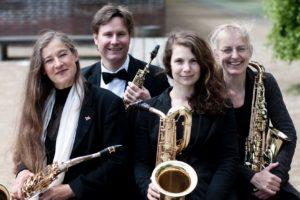 Classic 4 Sax und Tini Thomsen
